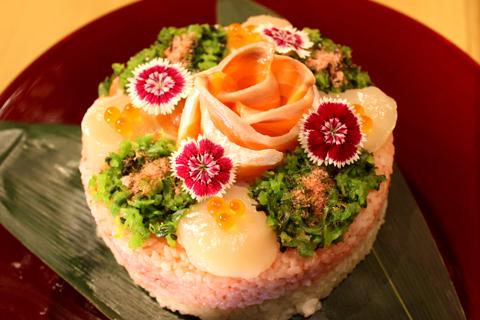 たく庵寿司(お魚)