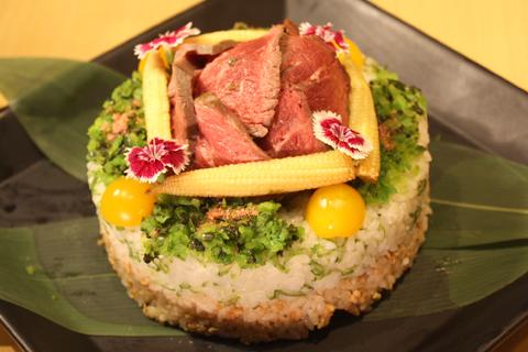 たく庵寿司(お肉)